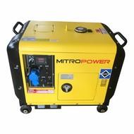 Mitropower MP6000S -150 kg - 5000W - 67 dB - Groupe électrogène