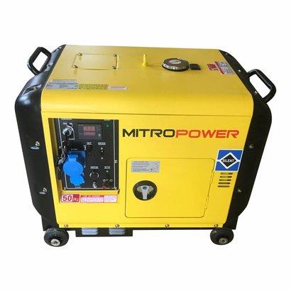 Mitropower MP6000S  -150 kg - 5000W - 67 dB - Aggregaat