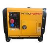 Mitropower MP6000S3 - 150 kg - 6300W - 67 dB - Groupe électrogène avec télécommande