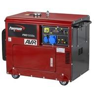 Pramac PMD 5000s - 165Kg - 4950W - 69dB - Agrégat diesel