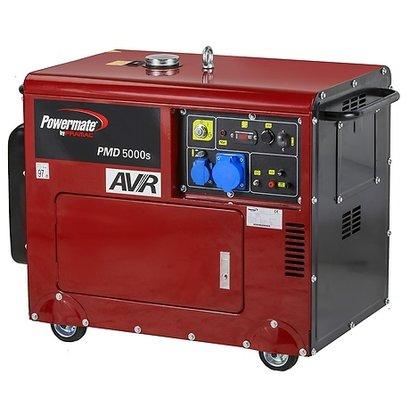Pramac PMD 5000s - 165Kg - 4950W - 69dB - Diesel Aggregat