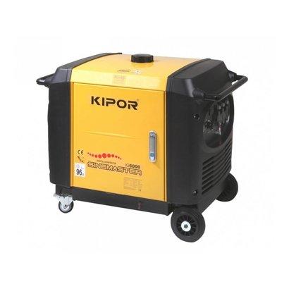 Kipor IG6000   Met ECO schakelaar voor zuinig gebruik