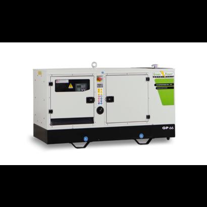 Green Power GP25 S / G - 1150 kg - 25 kVA - 61 dB - Gasgenerator - Aardgas - LPG
