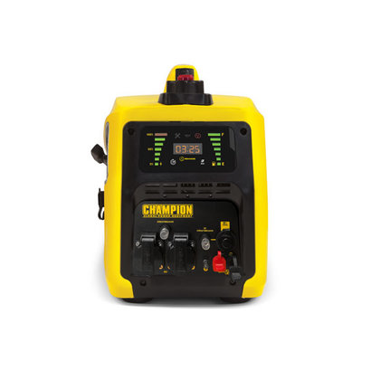 Champion Generators 82001i-E-DF-EU - 2000W - 26Kg - 53dB - Dual Fuel Aggregaat