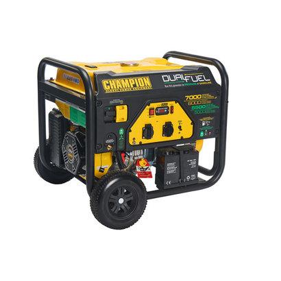 Champion Generators Champion 7000 Watt - 7000W - 96.8Kg - 74dB - Dual Fuel Aggregat