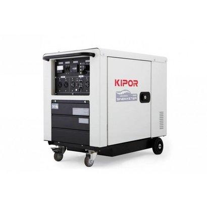 Kipor ID6000 | Mit sauber elektronisch geregelter Sinus-Ausgangsspannung