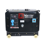 Champion Generators Warrior 5000 Watt - 5000W - 150Kg - 65dB - Diesel Agrégat