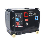 Champion Generators Warrior 5500 Watt - 5500W - 168Kg - 68dB - Diesel Aggregat
