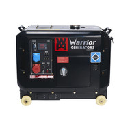 Champion Generators Warrior 6kW - 6000W - 150Kg - 68dB - Diesel Agrégat