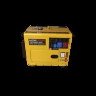 Mitropower PM7500DV - 6000W - 172Kg - 70dB - Diesel Agrégat