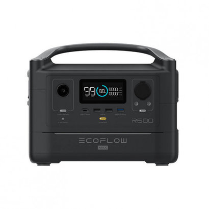 EcoFlow RIVER 600 MAX PORTABLE POWER STATION - EU VERSION