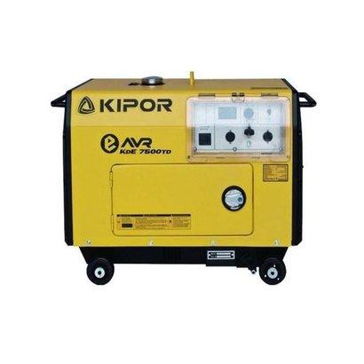 Kipor KDE7500TD | Diesel aggregaat met grote brandstoftank