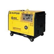 Kipor KDE7500TD3 - 177 kg - 7,1 kVA - 73 dB - Groupe électrogène
