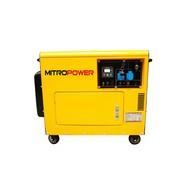 Mitropower PM7000TD -  155 kg - 4,5 kVA - 67 dB - Groupe électrogène