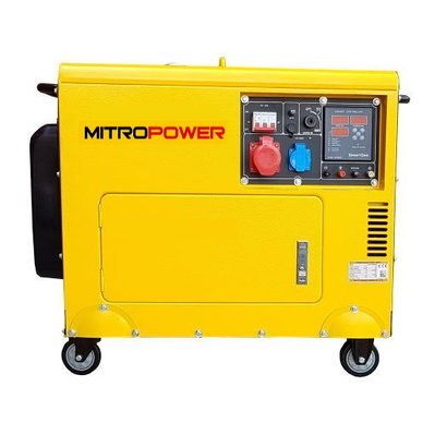 Mitropower PM7000TD3   AVR Generator equipped with a reliable four-stroke diesel engine