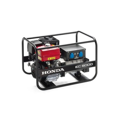 Honda EC5000 Generator have running times ranging from just under three, to nine hours