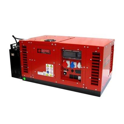 Europower EPS12000TE | Stromerzeuger mit Stundenzähler und Thermisch Schutzschalter