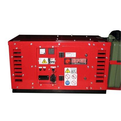 Europower EPS2500DE | 2,5 kVA groupe électrogène super-insonorisés avec Hatz diesel moteur