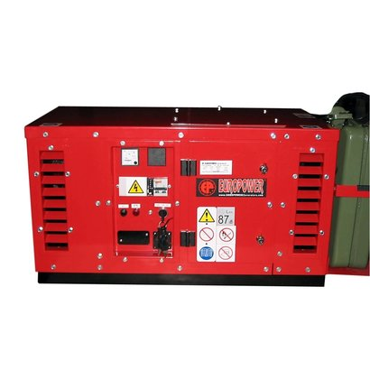 Europower EPS2500DE | 2,5 kVA super-silenced generating set with air-cooled Hatz diesel engine