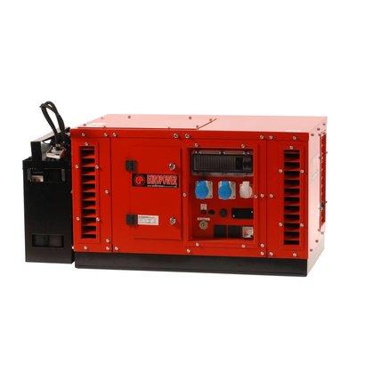 Europower EPS3500DE | 3 kVA groupe électrogène super-insonorisés avec Kubota diesel moteur