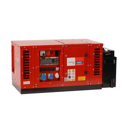 Europower EPS6000DE   Super-schallgedämmte 5,5 kVA Stromerzeuger mit Hatz Motor