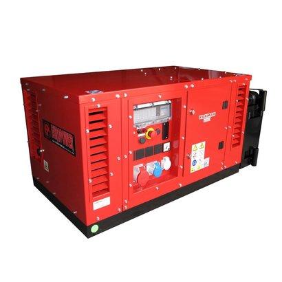 Europower EPS6000TDE | Super-schallgedämmte 5,5 kVA Stromaggregat mit Yanmar Motor