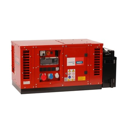 Europower EPS7000TDE | 7 kVA super-silenced generating set with Hatz diesel engine