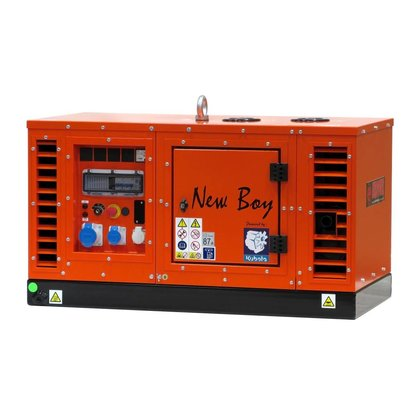 Kubota EPS73DE | Super-silenced 7 kVA generating set with water-cooled diesel engine