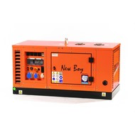 Kubota EPS123DE Super-silenced 12 kVA Kubota generating set with water-cooled diesel engine