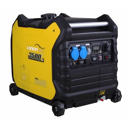 Loncin PM3500i | Mit gerade45 kg Gewicht ist er über 50% leichter als gekapselte Stromerzeuger