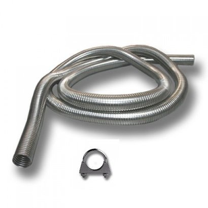 Loncin LC2000i exhaust extension 1 mtr - Copy