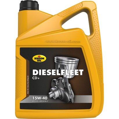 Dieselfleet CD+ 15W-40 Motorolie - 5 ltr voor diesel aggregaten