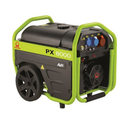 Pramac PX8000 400V Benzin-Stromerzeuger mit AVR