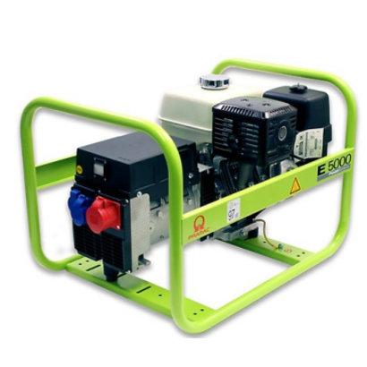 Pramac E5000 400V 6.3 kVA Benzin-Stromerzeuger mit Honda Motor