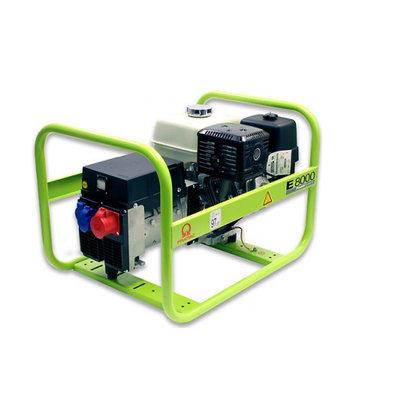 Pramac E8000 230V/400V Benzine Aggregaat met Honda motor