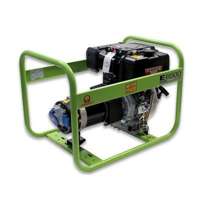 Pramac E6500 230V met luchtgekoelde Yanmar Motor