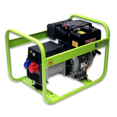 Pramac E4500 400V 3,98 kVA PRAMAC Stromerzeuger E4500 Diesel-Generator