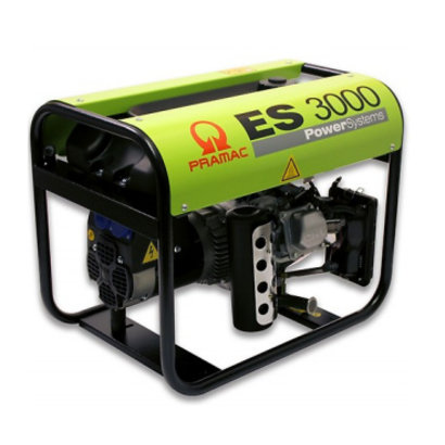 Pramac ES3000 Benzin-Stromerzeuger mit Honda 4-Takt OHV Motoren GX