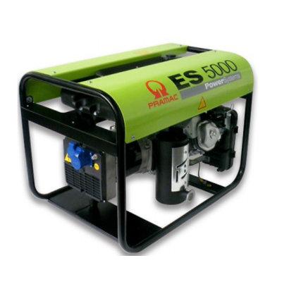 Pramac ES5000 5,1 kVA Stromerzeuger ES5000 Benzin-Generator 230V mit AVR
