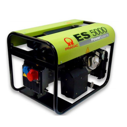 Pramac ES5000 230V/400V Benzine aggregaat met AVR technologie