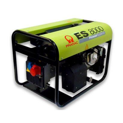 Pramac ES8000 400V Groupe Électrogène 8.3 kVA Essence PRAMAC ES8000