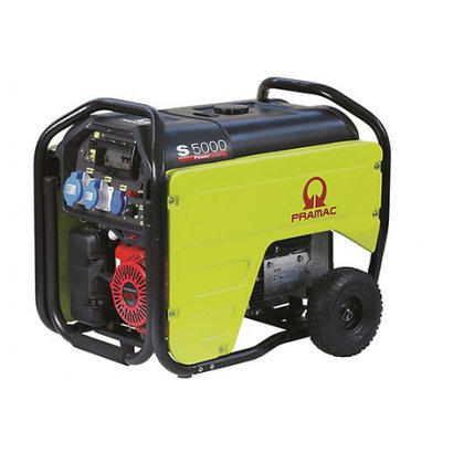 Pramac S5000 Benzin-Stromerzeuger S5000 Benzin-Generator 230V - 5,3 kVA
