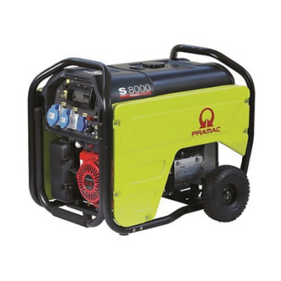 Pramac S8000 7,2 kVA Stromerzeuger S8000 Benzin-Generator E-Start 230V