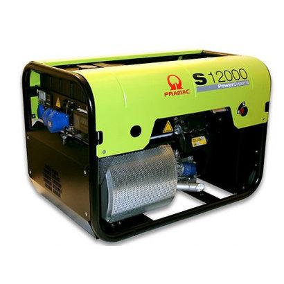 Pramac S12000 Groupe Électrogène 11,9 kVA Essence 230 V S12000 avec AVR et Prise CONN PRAMAC