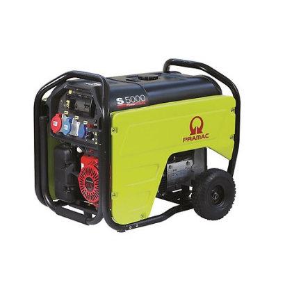 Pramac S5000 Stromerzeuger S5000 Benzin-Generator E-Start 230/400V - 3,8 / 6,3 kVA