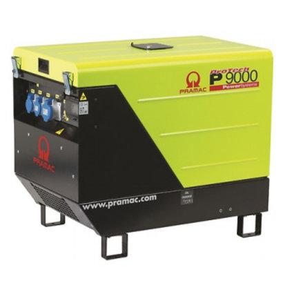 Pramac P9000 230V Diesel Aggregaat met Lombardini motor