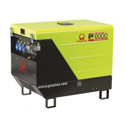 Pramac P6000 400V Generator with a big tank