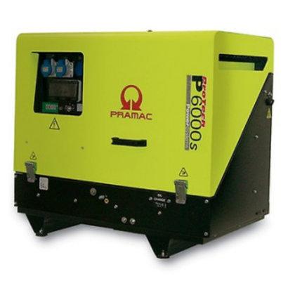 Pramac P6000s 400V Ultra stille Diesel aggregaat met Yanmar motor