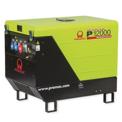 Pramac P12000 400V with wheelkit