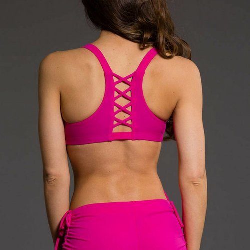 Onzie Yoga Wear Weave Bra - Summer Rose (XS/S/M/L)